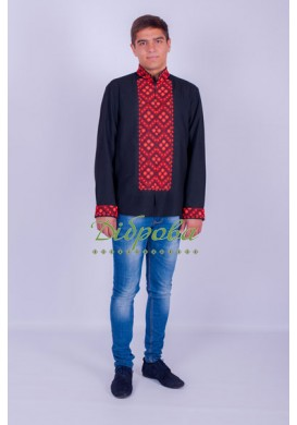 "MENS EMBROIDERY BEADED ""SVATKOVA"""